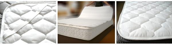 ホテルのベッドパッド