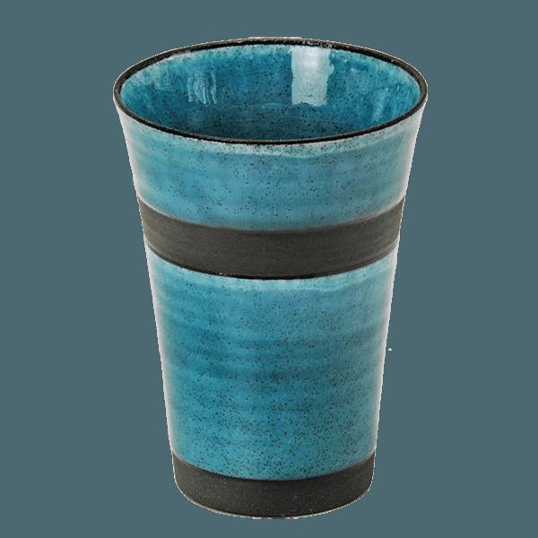 【美濃焼】トルコブルーの陶カップ|花キューピットの父の日におすすめ!人気のプレゼント特集 2019