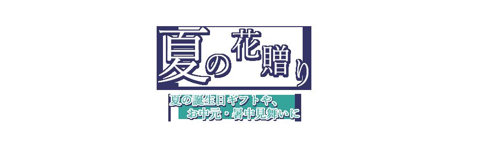花キューピットのお中元・暑中見舞い特集 2018