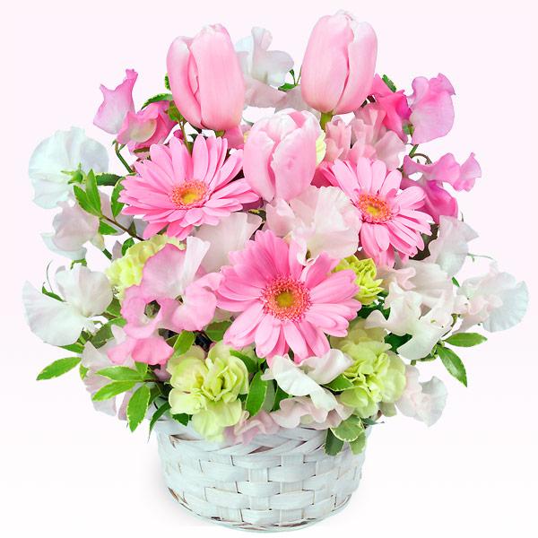 春のピンクアレンジメント(ピンク) |チューリップギフトにおすすめ!人気のプレゼント特集 2019 |チューリップ特集