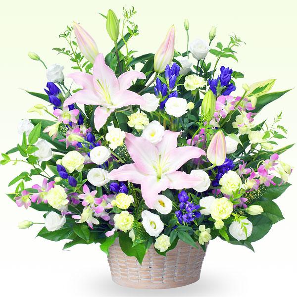 お供えのアレンジメント 511312 |花キューピットの2019 お盆(新盆・初盆)
