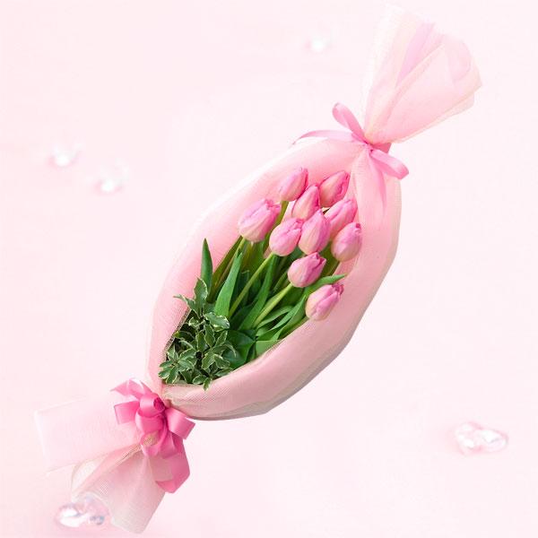 キャンディーブーケ(ピンク) チューリップギフトにおすすめ!人気のプレゼント特集 2019|チューリップ特集