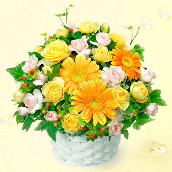 オレンジガーベラのアレンジメント |春のお祝い・イベントに!|春のお祝い特集 2019