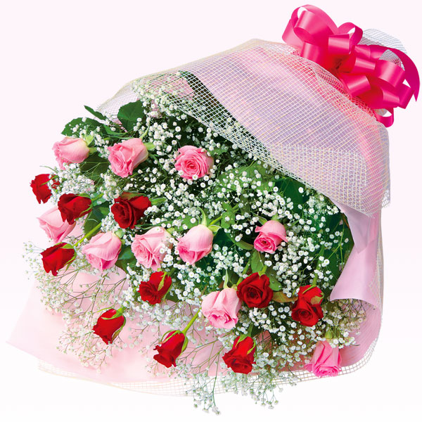 ミックスバラの花束 511579 |花キューピットの2019結婚記念日特集