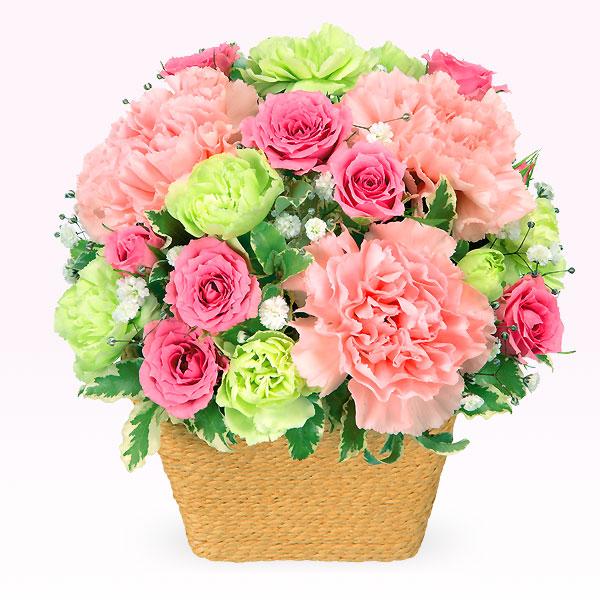 ピンクアレンジメント 511751 |花キューピットの2019結婚記念日特集