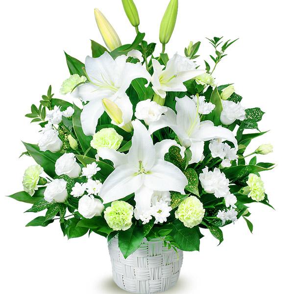 お供えのアレンジメント 511877 |花キューピットの2019 お盆(新盆・初盆)