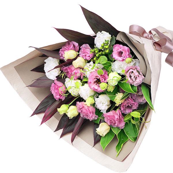 【父の日】2色トルコキキョウの花束 511988 |花キューピットの父の日プレゼント特集2020