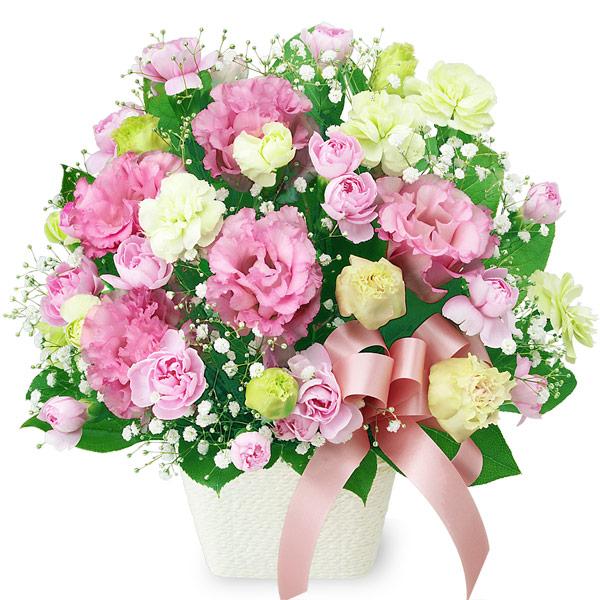 【母の日】トルコキキョウのリボンアレンジメント 511992 |花キューピットの母の日プレゼント特集2020