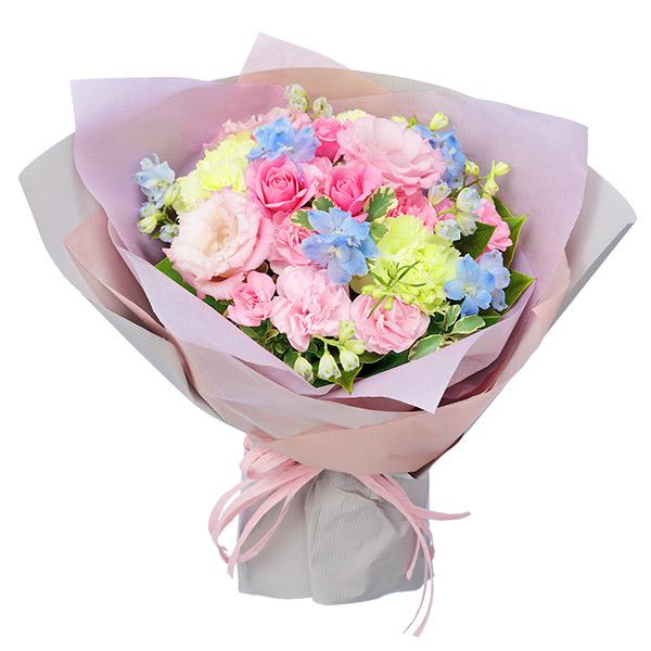 【母の日】ピンクトルコキキョウのパステルブーケ 512199 |花キューピットの母の日プレゼント特集2020