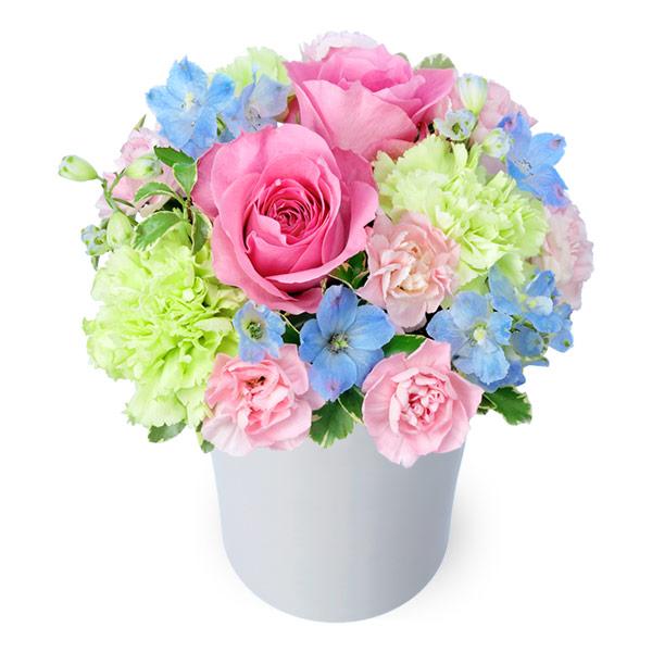 【母の日】ピンクバラのパステルアレンジメント 512200 |花キューピットの母の日プレゼント特集2020