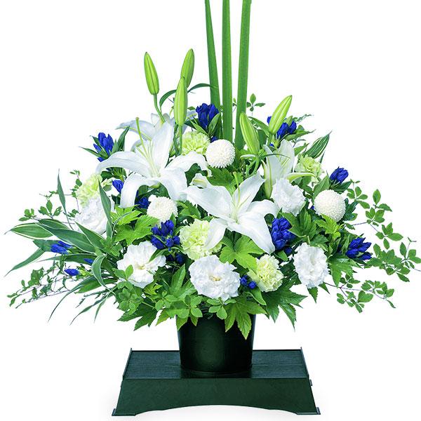 【お盆・新盆】お供えのアレンジメント(供花台付き) 512252 |花キューピットのお盆・新盆プレゼント特集2020