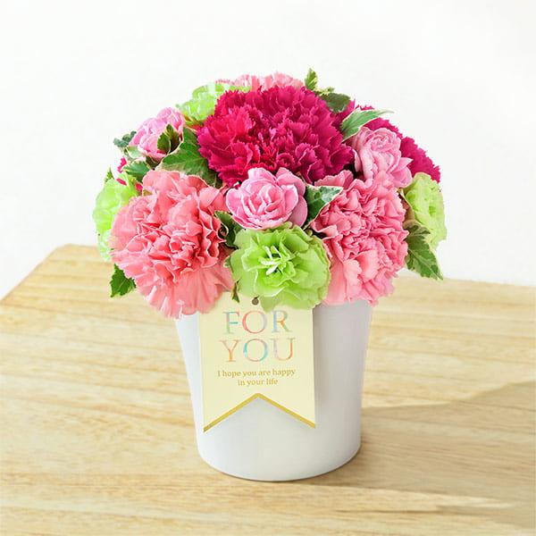 グラマラス(ピンク) 521253 |花キューピットの2019母の日フラワー特集