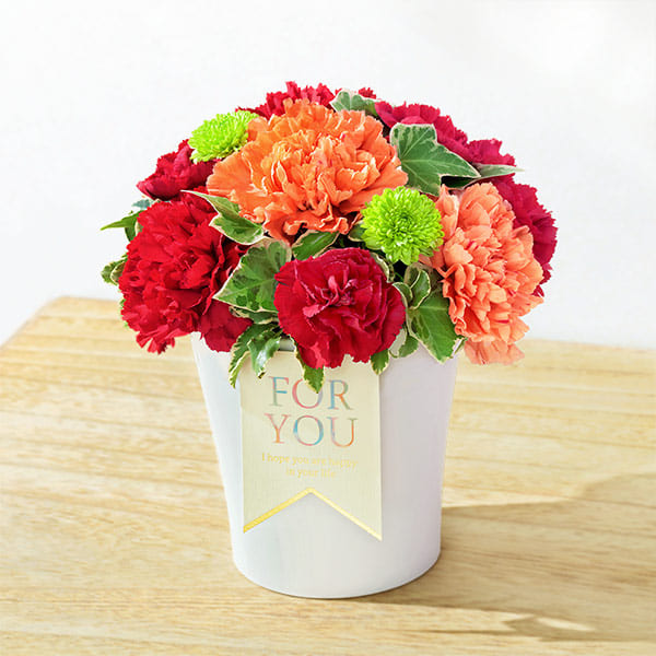 【母の日】グラマラス(レッド) 521254 |花キューピットの母の日プレゼント特集2021