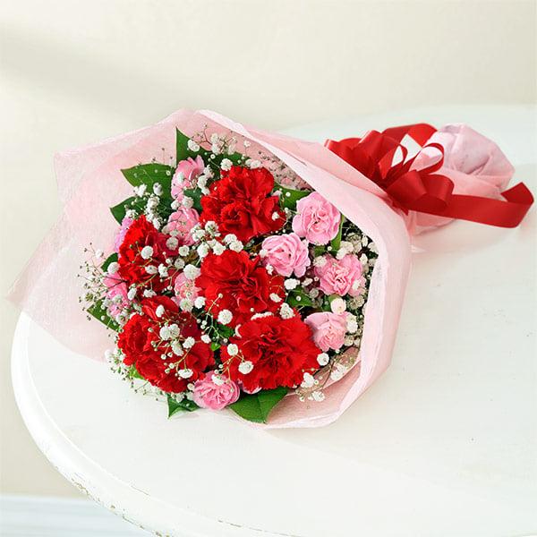 カーネーションの花束 521269 |花キューピットの2019母の日フラワー特集