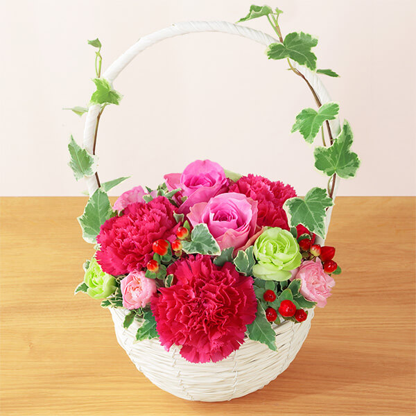 【母の日】リスペクト(ピンク) 521283 |花キューピットの母の日プレゼント特集2021