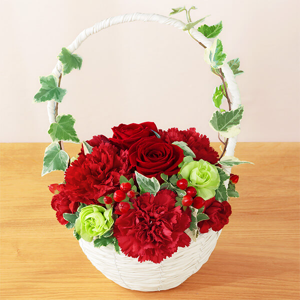 【母の日】リスペクト(レッド) 521284 |花キューピットの母の日プレゼント特集2021