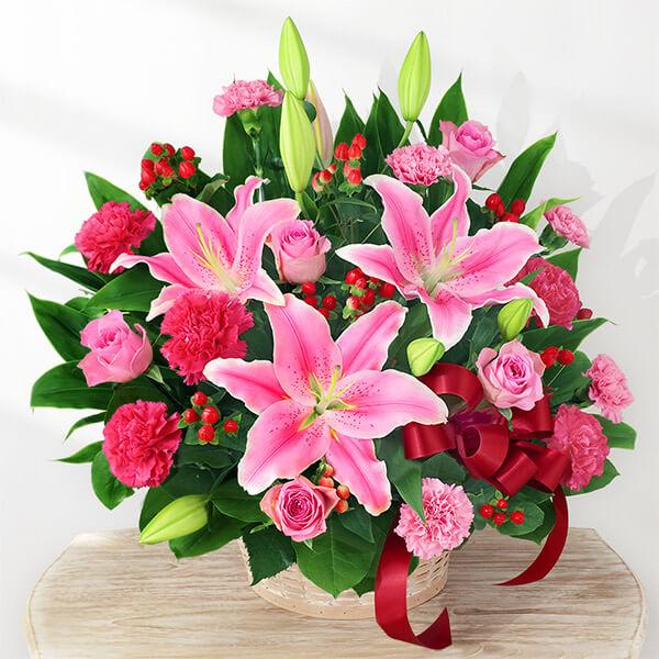豪華なアレンジメント 521291 |花キューピットの2019母の日フラワー特集