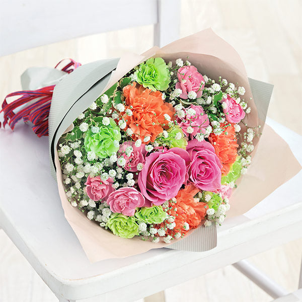 【母の日】ティーブーケ 521295 |花キューピットの母の日プレゼント特集2021