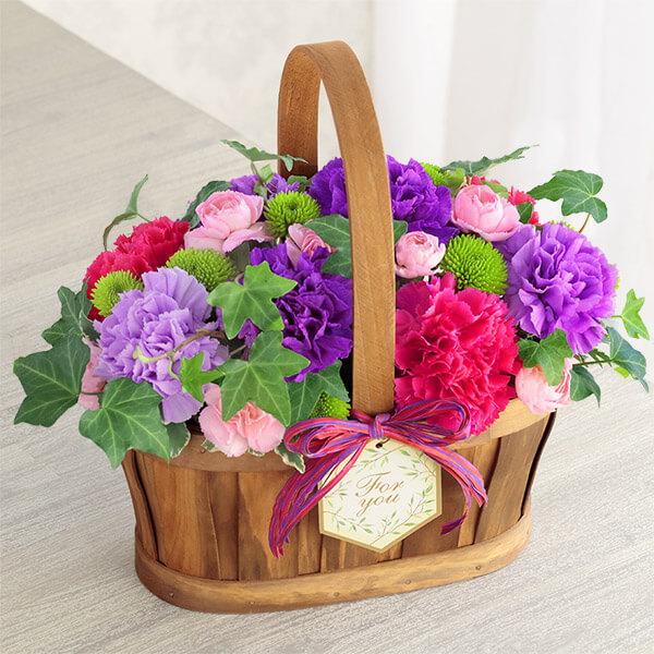 【母の日】ハッピー(ムーンダスト) 521316 |花キューピットの母の日プレゼント特集2021