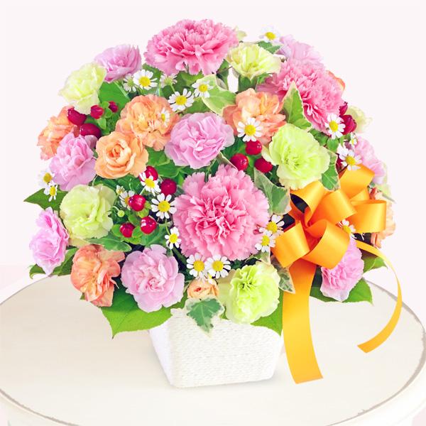 カーネーションのミックスアレンジメント 613259 |花キューピットの2019母の日フラワー特集