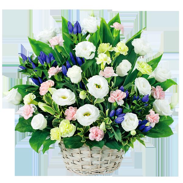 淡い色合いのお花 お盆 おすすめのお花|花キューピットのお盆(新盆・初盆)おすすめギフト 2019