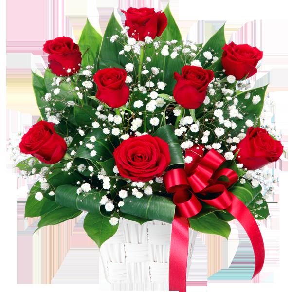 12月の誕生花(赤バラ等)