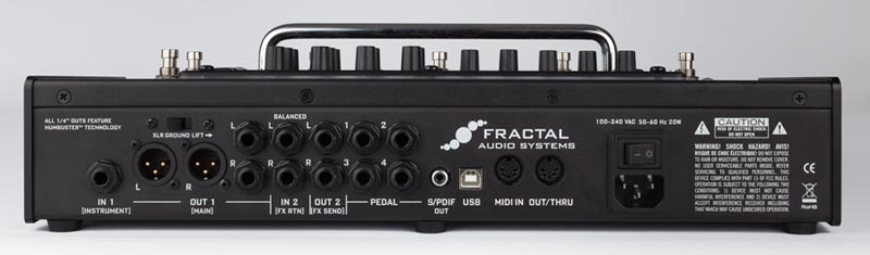 fractal audio systems ax8 multi effects pedalboard ポイント5倍