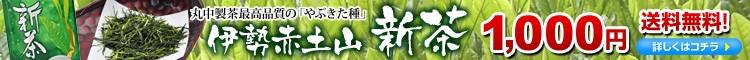 赤土山新茶送料無料