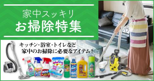お掃除特集