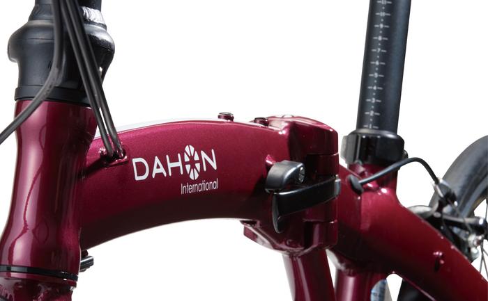 高級感を感じさせるDAHON Mu SP9のフレームデザイン