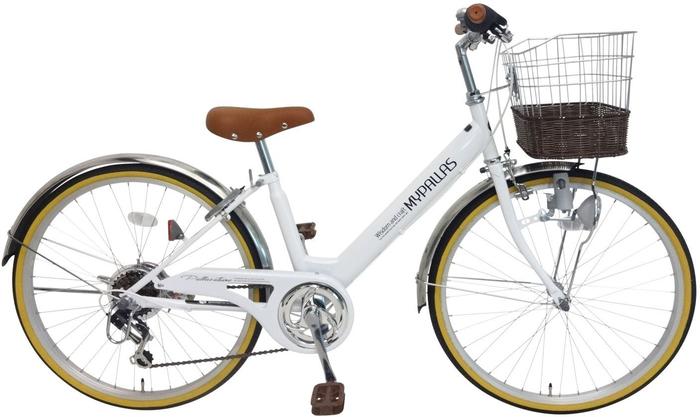 My Pallas M-811 子供用自転車24・6SP ホワイトの概観
