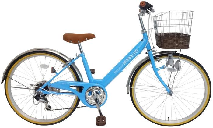 My Pallas M-811 子供用自転車24・6SP ブルーの概観