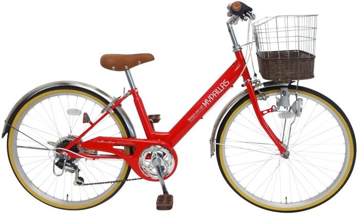 My Pallas M-811 子供用自転車24・6SP レッドの概観