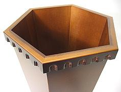 ダストボックス、ゴミ箱、屑箱:6k2673