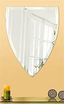 他にはどこにもない オンリーワンミラー クリスタルミラーシリーズ 選べるスタイル 自由自在 商品数2000種類!壁掛け鏡 ウオールミラー
