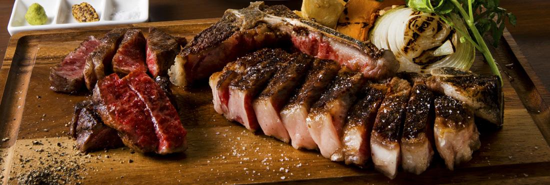 門崎熟成肉のステーキ・骨付き肉