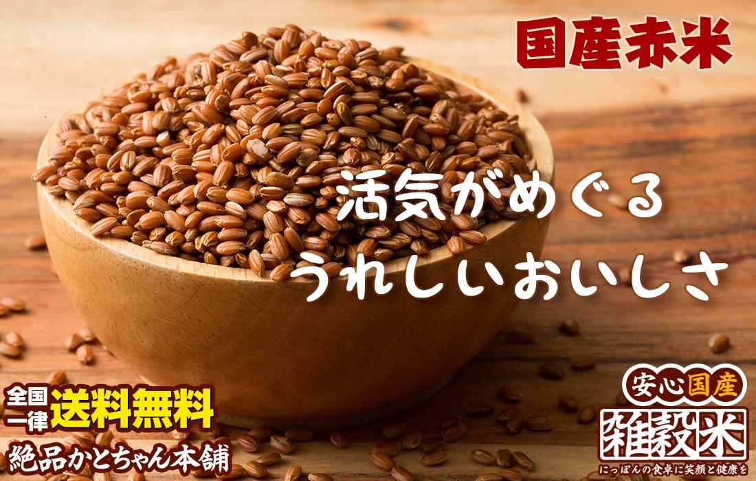 国産赤米活気めぐるうれしいおいしさ