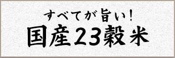 国産23穀米 雑穀