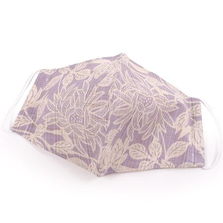 薄紫地 菊