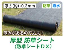 防草シートDX