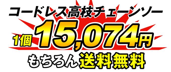 高枝チェーンソー価格
