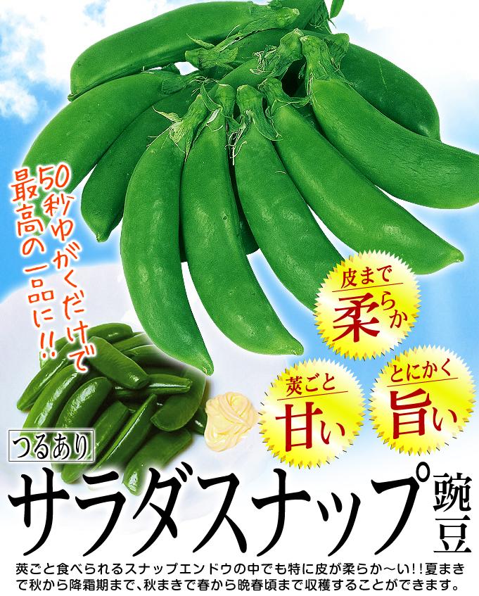サラダスナップ豌豆