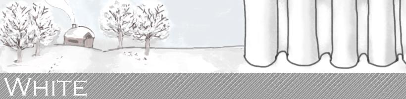 白色系カーテン