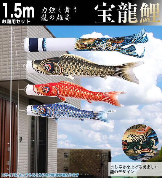宝龍鯉1.5mお庭用セット