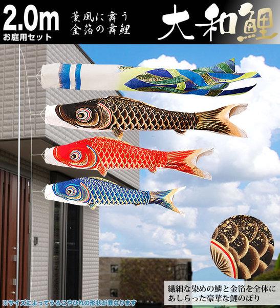 大和鯉2mお庭用セット