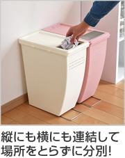 ゴミ箱 ふた付き 20JP フラップ式 21L コンテナスタイル 分別