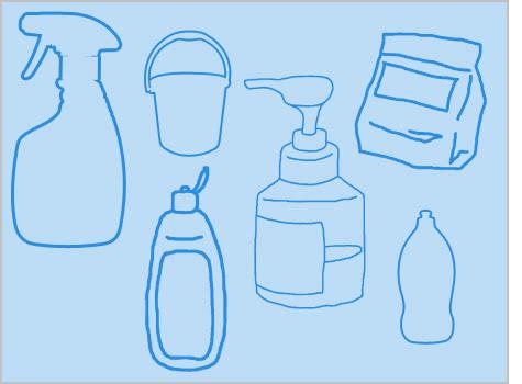 合成洗剤(プロ用)について