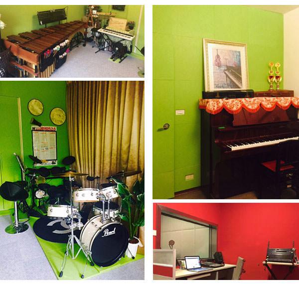 音楽教室・スタジオで