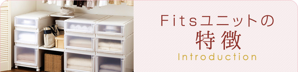 Fitsユニットの特徴