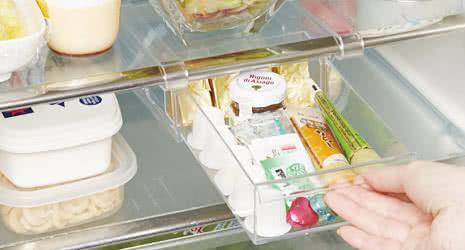 冷蔵庫収納 冷蔵庫トレーワイド